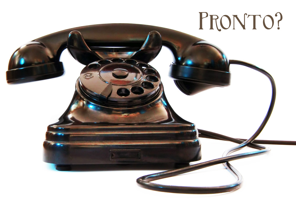 Pronto: How to Talk on the Phone in Italy - GRAND VOYAGE ITALY